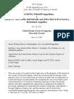 Jewel King v. Shirley S. McCord Individually and D/B/A McCord Grocery, 707 F.2d 466, 11th Cir. (1983)
