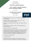 Marie McDaniel v. Otis R. Bowen , Secretary of Health and Human Services, 800 F.2d 1026, 11th Cir. (1986)