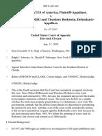 United States v. Robert Dibernardo and Theodore Rothstein, 880 F.2d 1216, 11th Cir. (1989)