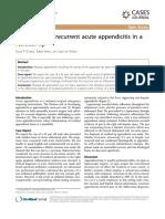 Case Report of Recurrent Acute Appendicitis in A