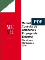 Manual Propaganda Servel
