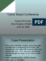 TB Squamous Cell Carcinoma Head Neck Munireddy