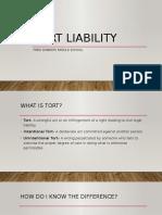 tort liability