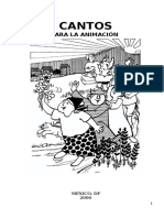 Librito de Cantos de Animacion MJP