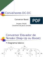 Conversor Boost