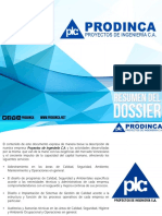 Dossier 2016- Prodinca