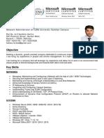 Hafeez Fareed CV