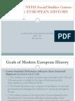 evaluation of modern european