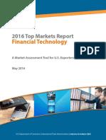 Financial Technology Top Markets Report