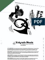 Repair Book (Eckroth Music)