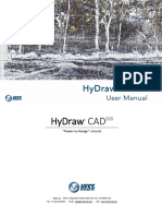 HyDraw CAD900 User Manual