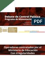 Presentación Senadora Viviane Morales