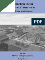 Roman Durnovaria - 11 Mortar and opus signium