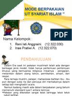Etika Dan Adab Berpakaian Scr Syariat Islam
