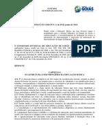 Resolução 5 de 10 de Junho de 2011 - Reg - Eb -Ceego