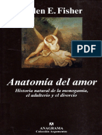 Fisher Helen - Anatomia Del Amor PDF
