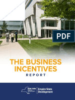 2015 ESD Business Incentives Report