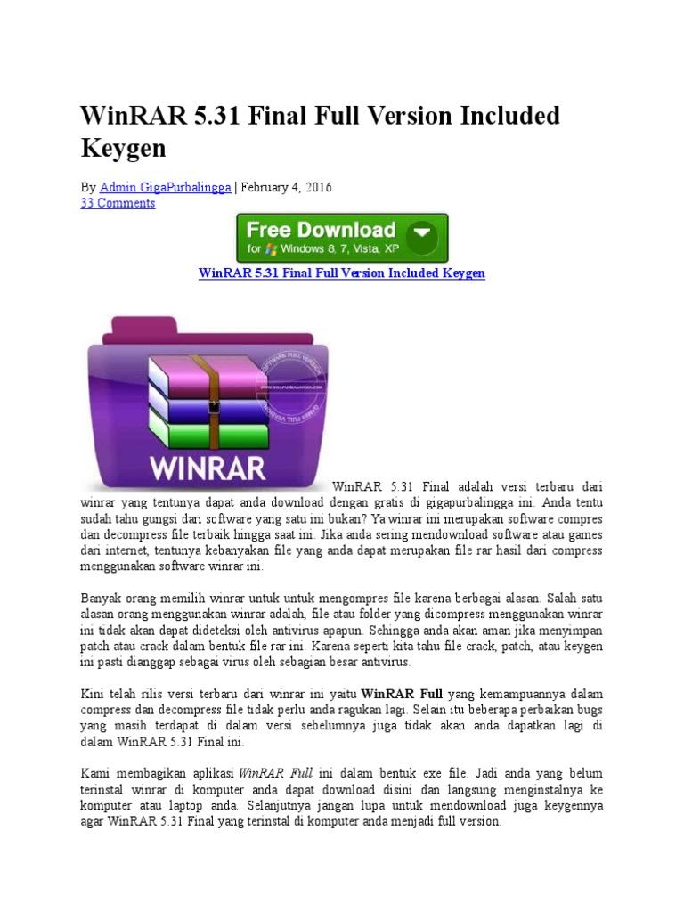 Download winrar 64 bit full gigapurbalingga | Winrar Download  2019