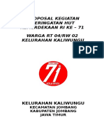 Proposal Hut Ri Ke 71