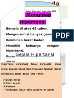 leaflet hipertensi pada lansia