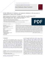 Gender differences in substance use treatment utilization in the year prior to deployment in Army service members