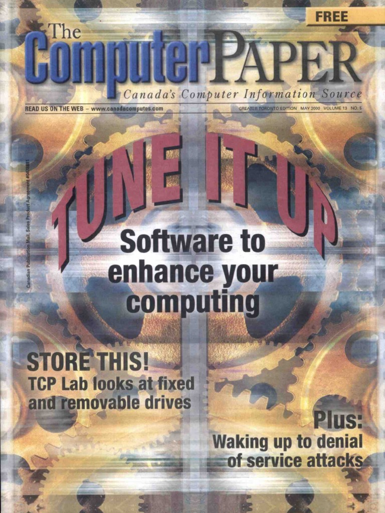2000-05 the Computer Paper - Ontario Edition | Printer (Com ... on