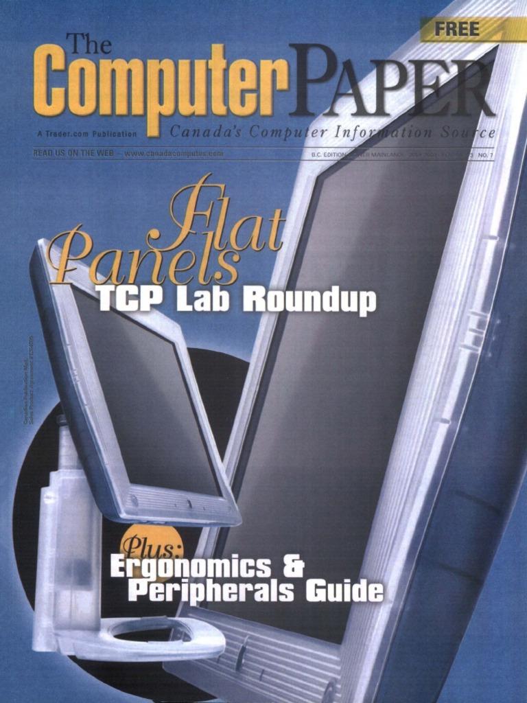 32c75195842133 2000-07 the Computer Paper - BC Edition   Human Factors And Ergonomics    Technology