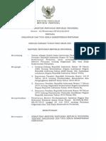 Permentan43 2015 Tentang Organisasi&Tatakelola Kementan