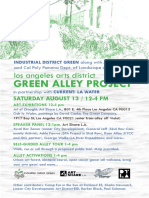 Arts District Green Alley Project