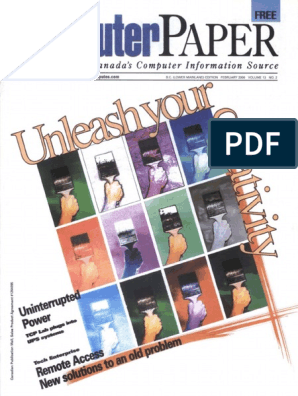2000-02 the Computer Paper - BC Edition | Personal Computers