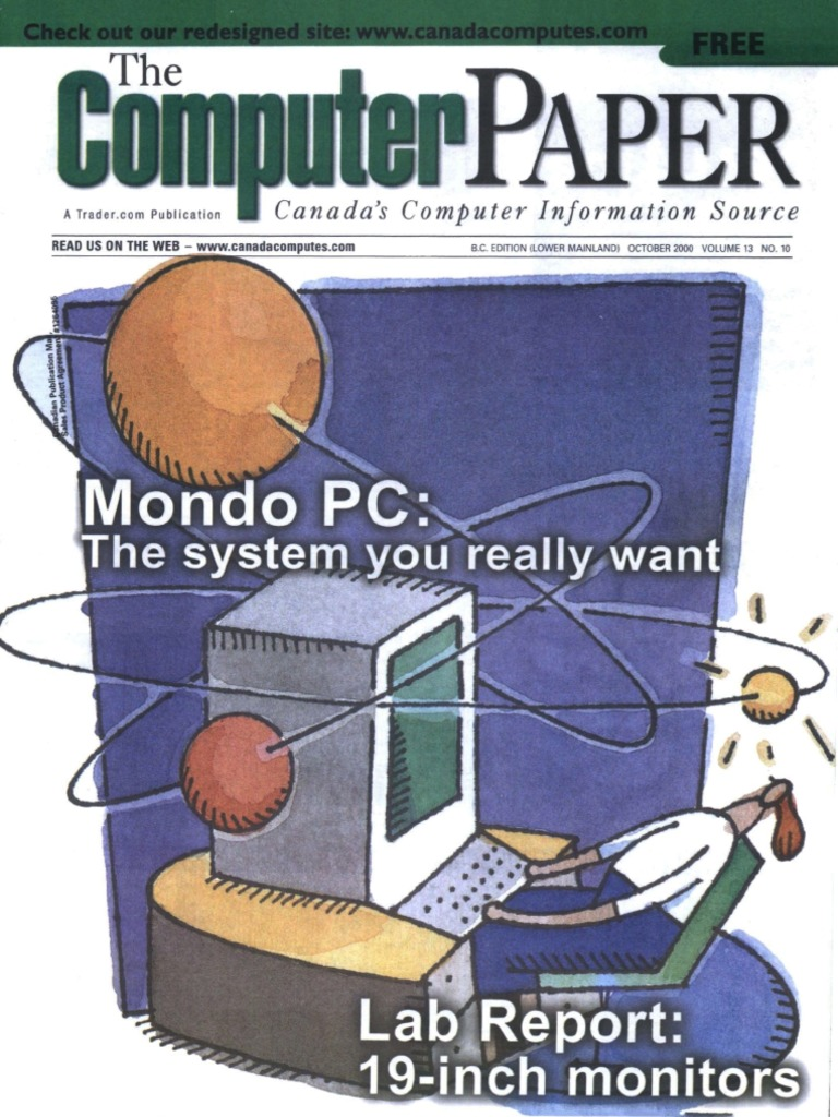 2000-10 the Computer Paper - BC Edition | Personal Computers | Internet  Service Provider
