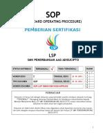 5.0 SOP Sertifikasi Kompetensi