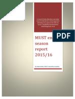 MUST end of season report 2015-16