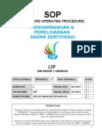 3.SOP Pengembangan & Pemeliharaan Skema Sertifikasi