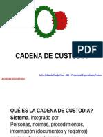La Cadena de Custodia