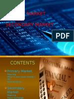 Primarymarket vs Secondarymarket