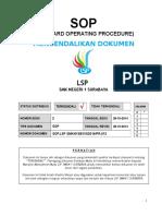 8. SOP Mengendalikan Dokumen