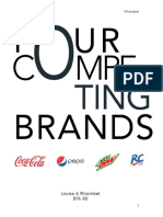 Four Competing Brands
