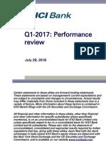 ICICI Q1-2017 Performance