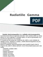 Radiatiile Gamma