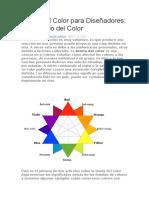 Teoría Del Color Para Diseñadores