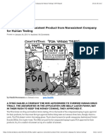 FDA Approves Nonexistent Product from Nonexistent Company for Human Testing | COTO Report.pdf