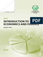 CAF2-Intorduction to Economics and Finance_Studytext