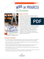 Still a Work in Progress by Jo Knowles Discussion Guide