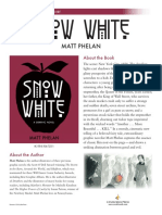 Snow White by Matt Phelan Discussion Guide