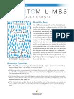 Phantom Limbs by Paula Garner Discussion Guide