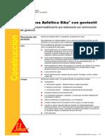 Membrana Asfáltica Sika Con Geotextil