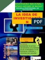 06 - Idea de Investigacion