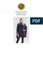 Pattern for Knitted Poncho