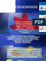 PLAN DE ACTIVIDAD FÍSICA PARA EL DESARROLLO DE LA PSICOMOTRICIDAD EN NIÑOS Y NIÑAS DE 4 A 6 AÑOS